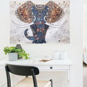 대형 패브릭 포스터 코끼리 M