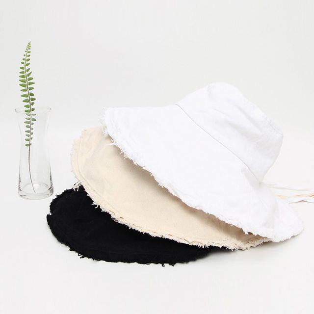 올풀림 빈티지 버킷햇 데일리 구제 패션 벙거지 모자