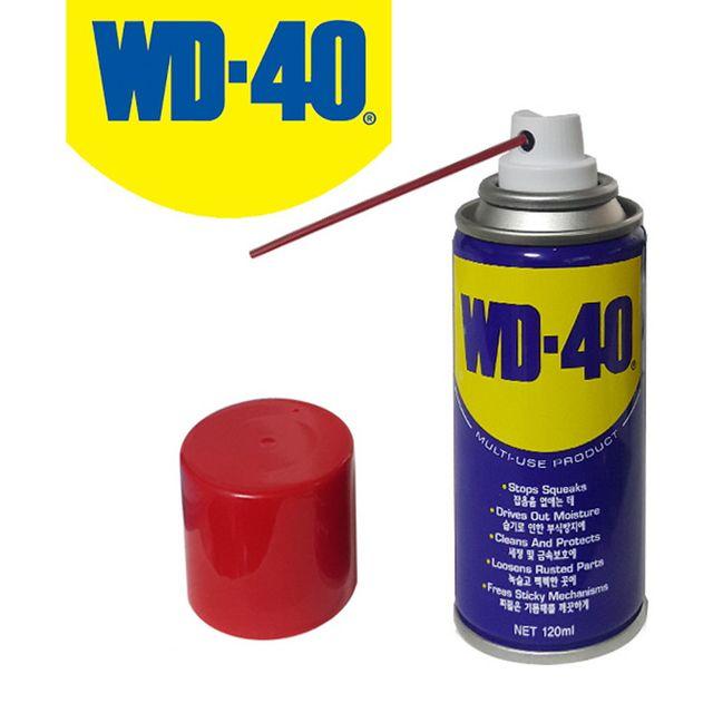W WD-40 방청윤활제 휴대용소형 120ml