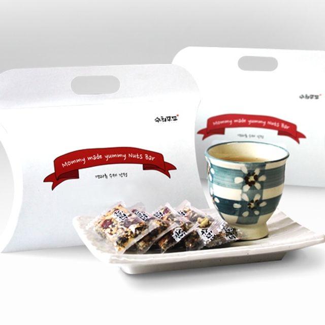 수희푸드 수제 견과류 강정 기프트팩 4종세트,명절선물,명절선물세트,선물세트,견과