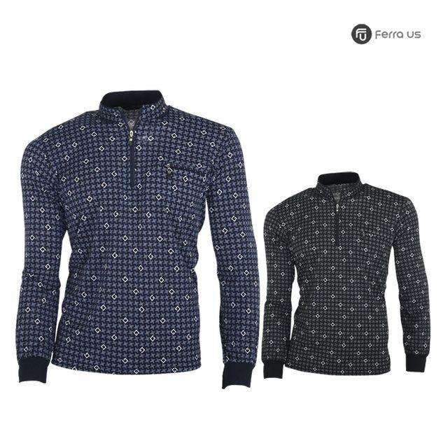 W TCC_페라어스 남성 골프 스판 핀휠 티셔츠 CTDJ2038S1