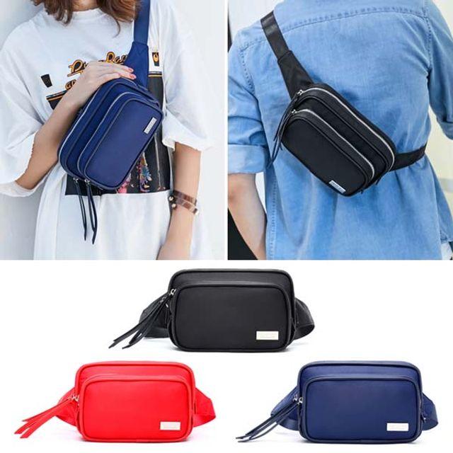 【韩国直邮】韩国男女同款便携带皮质多色挎包