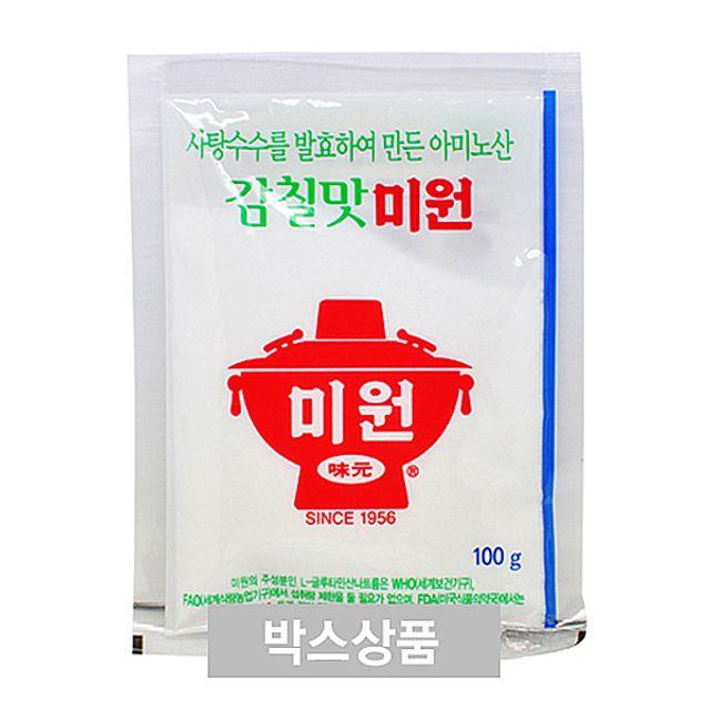 W27F1C3조미료 대상 청정원 미원 감칠맛 미원 100g X 200EA