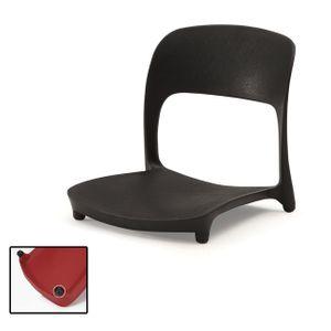 1인용 좌식 의자 앉는 업소용 허리편한 등받이 책상용