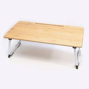 대나무재질 접이식 책상 대형 접이식식탁 1인테이블