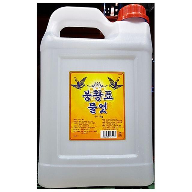 봉황 업소용 흰 물엿 5K 1EA
