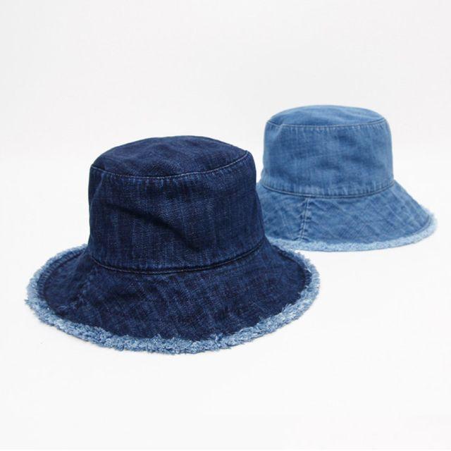 데님 빈티지 버킷햇 사계절 패션 올풀림 벙거지 모자