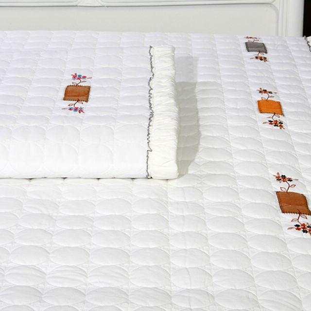 실리 광목 침대 패드 및 카페트 Q