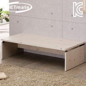 NETmate 좌식 책상 1500x600x320 워시 컴퓨터 테이블