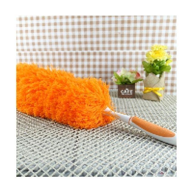 극세사 먼지 킬러 먼지털이 고급형 오렌지 핑크