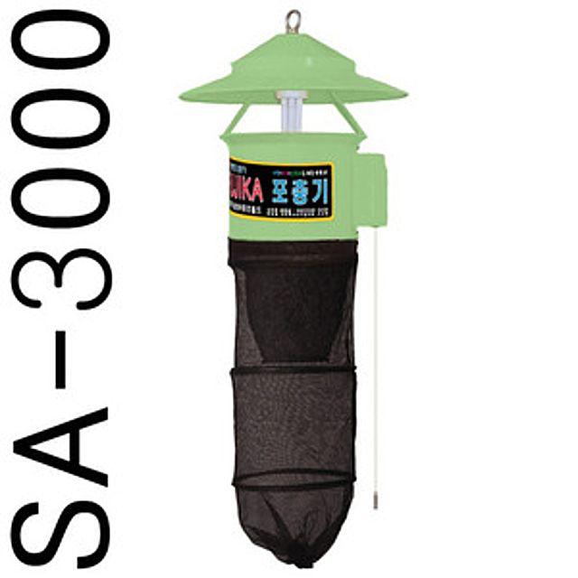 [더산쇼핑]후지카 포충기 실외용(50)(SA-3000) 기 파리 모기 유인램프 전력살충 벌레 벌레기