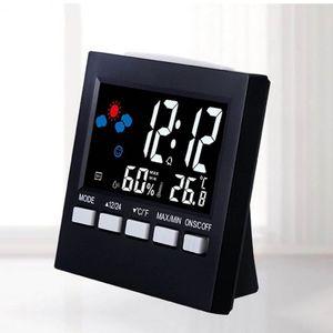 온습도계 디지털 온도계 습도계 알람 시계 겸용 달력
