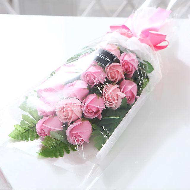 장미 15송이 꽃다발 핑크 로즈데이 성년의날 부부의날