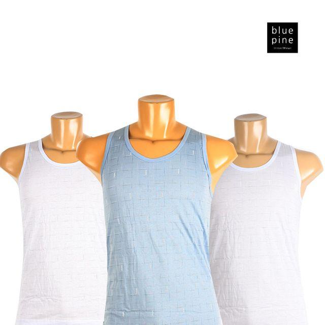 W 블루핀 남성런닝 셔츠 면 속옷 남자속옷 언더웨어