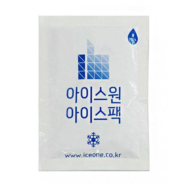 W 물 아이스팩 아이스박스 얼음팩 100프로 물 15X20