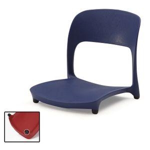 허리편한 좌식 의자 앉는 1인용 등받이 책상 업소용