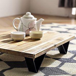 내추럴한 디자인 주방 거실 홈 카페 인기 티 테이블