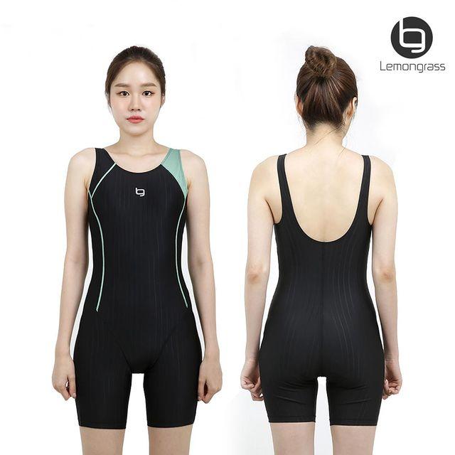 레몬그라스 여성 실내 반전신 수영복 LASWU1961