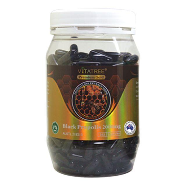 [해외] 호주 비타트리 블랙 프로폴리스 2000mg 365캡슐