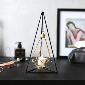 피라미드 등불스탠드 티라이트 행잉플랜트 캔들용품