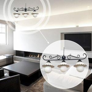 아파트 빌라 팬션 엘리 도자기 3등 LED 식탁등 주방등
