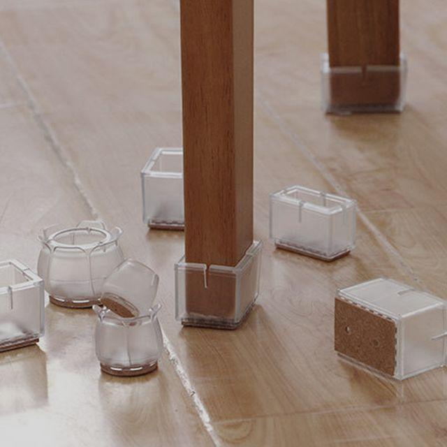 W 키밍 의자소음방지 커버 다리커버 실리콘 4개set