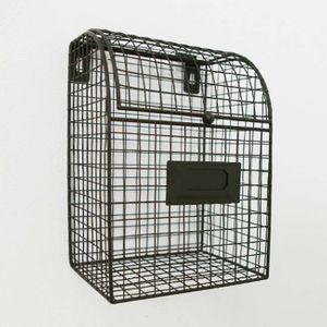 인테리어 철제 소품 홈가든 스틸 수납 박스(라운드)