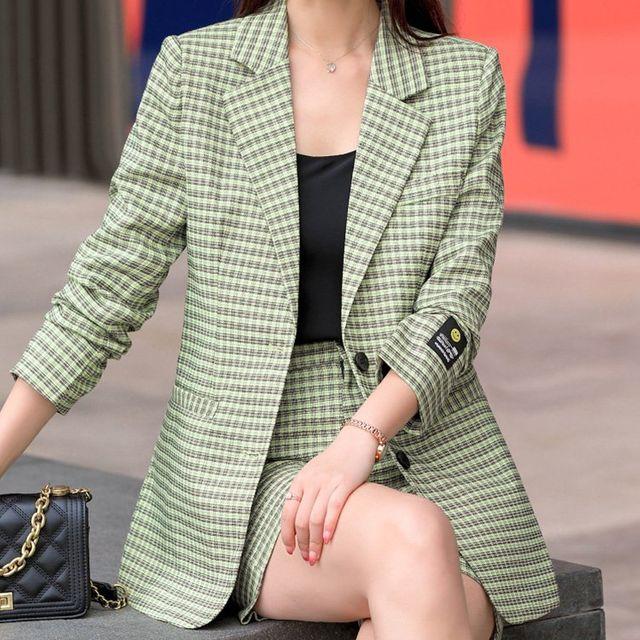 [해외] 여성 패션 재킷 자켓 정장세트과 여름 정장 슈트
