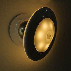 Coms 동작감지 LED램프 센서등 무드등 옐로우