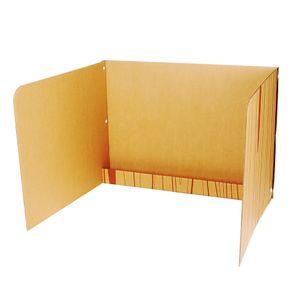 공부집중 칸막이 하단선반형 독서실책상