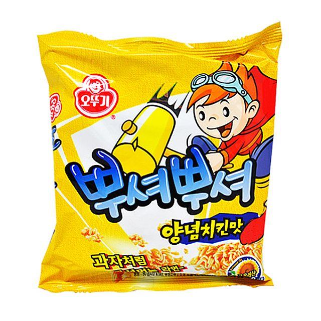 오뚜기 뿌셔뿌셔 양념치킨맛 90g.,오뚜기,뿌셔뿌셔,양념치킨맛,90g