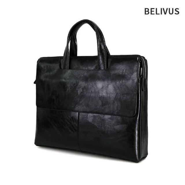 W 빌리버스 남성서류가방 BBD128 남자토트백 노트북가방