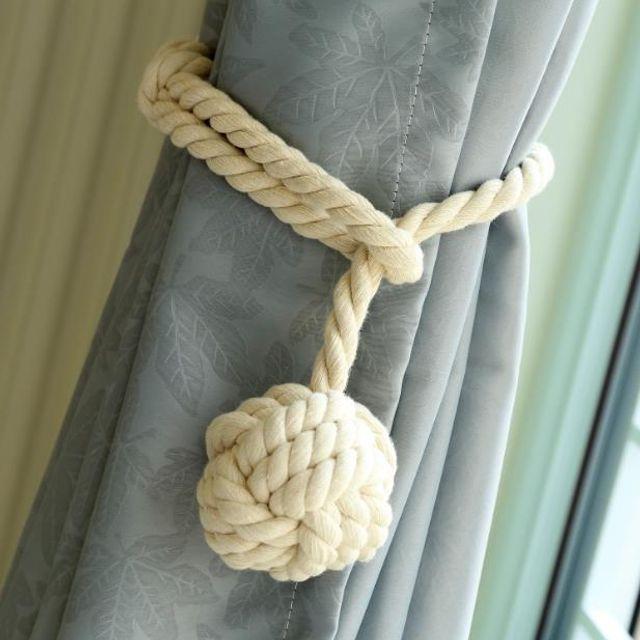 W 키밍 매듭걸이 커튼 끈 커튼타이백 인테리어 소품