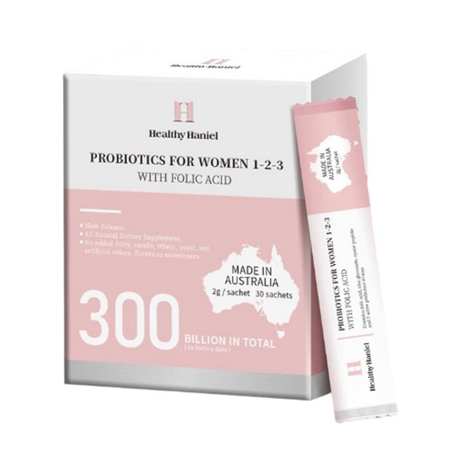 [해외] health hanieal 300억 여성용 프로바이오틱스 30스틱