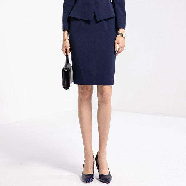 [해외] 여성 패션 재킷 자켓 정장세트 정장 슬림 드레스