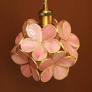호텔 펜션 침실 인테리어 포인트 조명 공사 벽등 핑크
