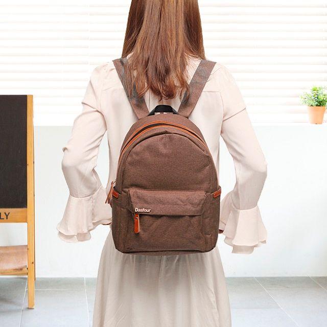[현재분류명],트랜디하고 세련된 브라운 포켓 백팩,백팩,캐쥬얼백팩,가방
