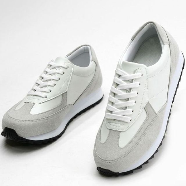 W 남성 운동화 런닝화 워킹화 심플 스니커즈 신발 2색