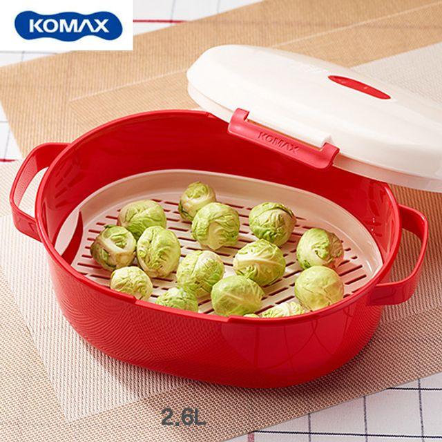 코멕스 전자레인지 요리용기(패밀리)-2.6L [제작 대량 도매 로고 인쇄 레이저 마킹 각인 나염 실크 uv 포장 공장 문의는 네이뽕]