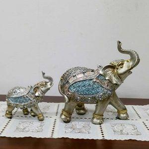 모녀코끼리세트신코끼리장식품