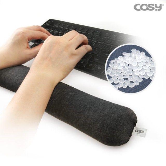 비즈키보드손목받침대 손목보호 양면사용가능 [제작 대량 도매 로고 인쇄 레이저 마킹 각인 나염 실크 uv 포장 공장 문의는 네이뽕]