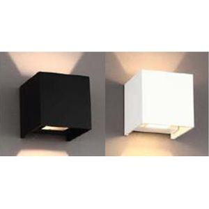 모던 LED 사각 벽등 모노톤 LED 벽등 원