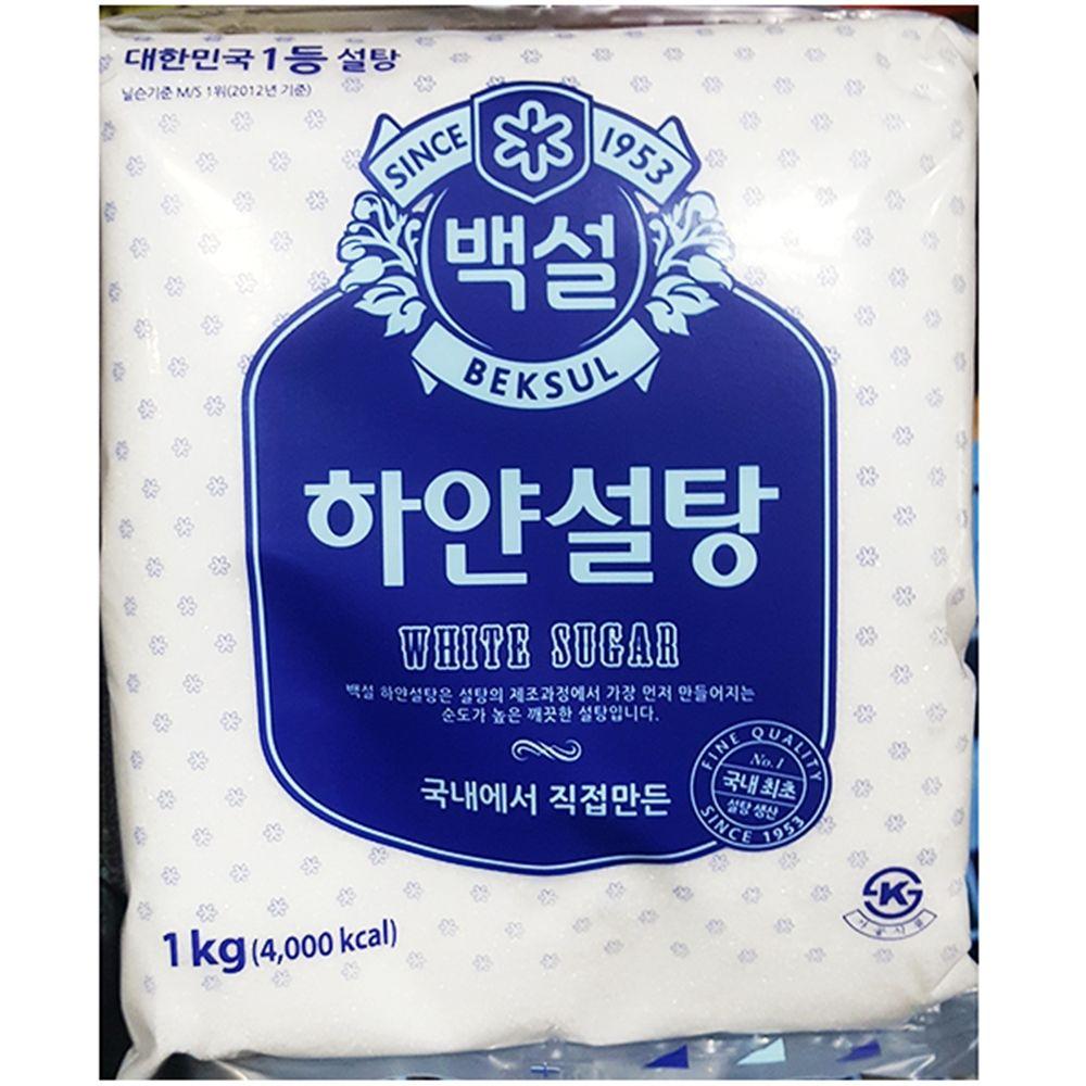 식재료 백설탕(백설 1K)X5,백설탕,식당용백설탕,업소용백설탕,식재료백설탕,식재료