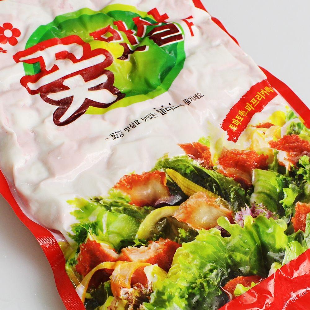 꽃맛살F 2kg 샐러드용 크래미 HACCP 안전식품,게살,맛살,크래미,집게맛살,요리용게맛살,크레미,대게속살,업소용게살,게살초밥,게살샐러드
