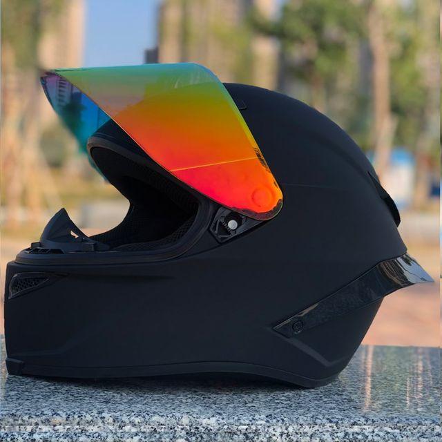 [해외] Dgl 맞춤형 테일 오토바이 헬멧 풀