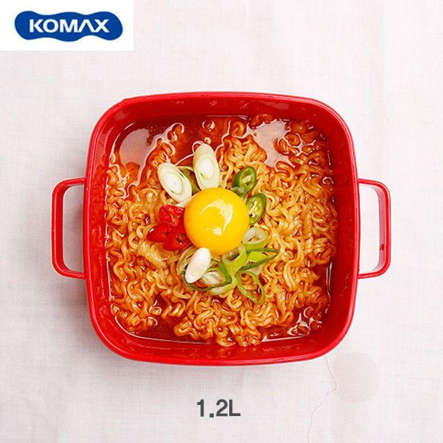 코멕스 전자레인지 요리용기(누들)-1.2L [제작 대량 도매 로고 인쇄 레이저 마킹 각인 나염 실크 uv 포장 공장 문의는 네이뽕]