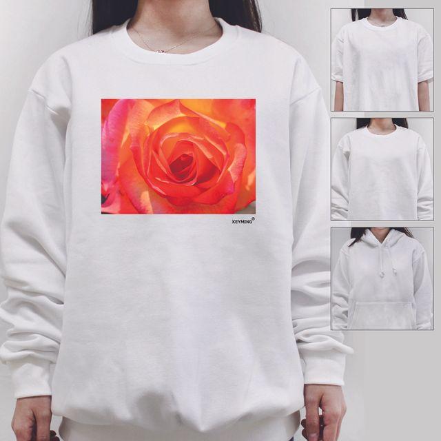 W 키밍 rose 로즈 여성 남성 티셔츠 후드 맨투맨 반팔