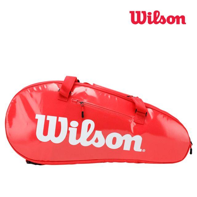 윌슨 WRZ840809 슈퍼투어 2 콤프 9PACK 레드 테니스백