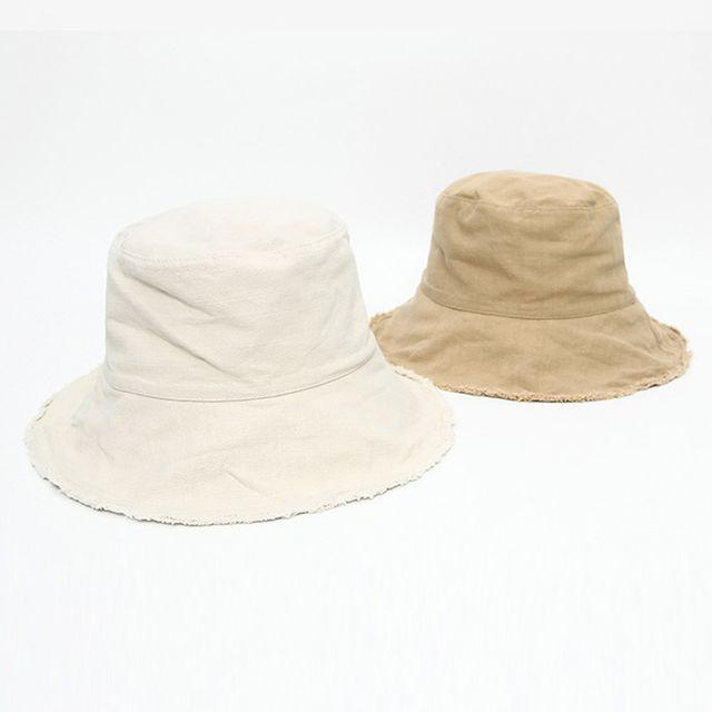 빈티지 패션 올풀림 벙거지 여행 데일리룩 커플 모자