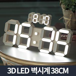 플라이토 데이즈 벽시계/무소음 LED 전자 대형 거실